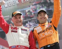 Walter e Paolo Meloni (padre e figlio) conquistano il successo in gara 1 e salgono poi nuovamente sul podio di gara 2