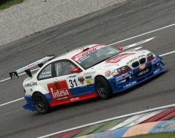 Paolo Meloni-Tresoldi con la seconda BMW del W&D Racing Team in cerca della prima affermazione