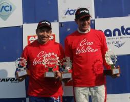 Secondo posto e vittoria di Divisione in Gara 1 per il duo del W&D Racing Team