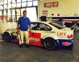 La squadra sammarinese affiderà una BMW M3 E46 a Walter Palazzo