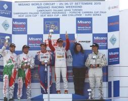 A Misano il binomio del W&D Racing Team chiude il weekend con due terzi posti