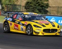 Bilancio per metà positivo al debutto sulla Maserati MC Granturismo