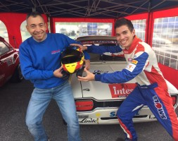 In crescita Davide Meloni alla sua terza gara con la Ford Escort 1.6