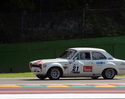 Vittoria di categoria anche per Davide Meloni con la Ford Escort 1.6