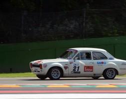 Vittoria di categoria anche per Davide Meloni con la Ford Escort 1.6