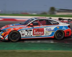 Il sammarinese al via della serie Sprint del GT italiano