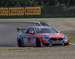 Il sammarinese questo weekend nella serie tricolore con la BMW M4 GT4 del W&D Racing Team