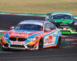 Il sammarinese al via del secondo appuntamento del Campionato Italiano Gran Turismo Sprint con la BMW M4 GT4 del W&D Racing Team