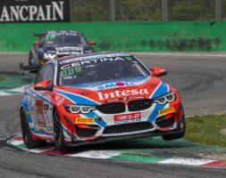 Questo weekend Paolo Meloni e Max Tresoldi scendono in pista con la BMW M4 nel round d